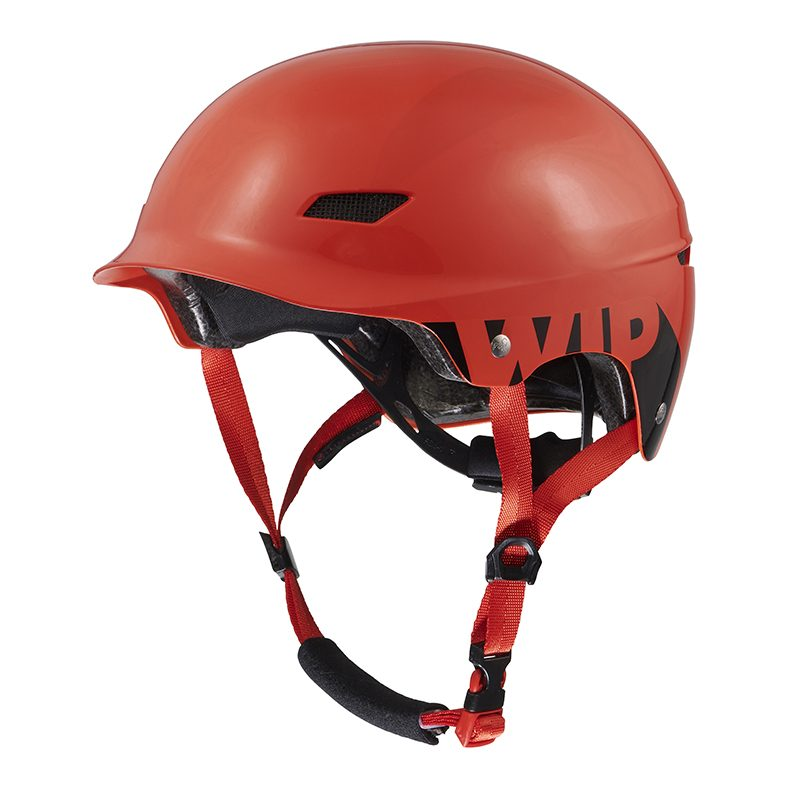 1. WIPPI JUNIOR HELMET -SHINY RED