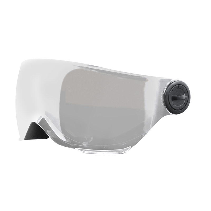 1. X-OVER HELMET VISOR SPARE LENS - MIRROR GREY CAT 3
