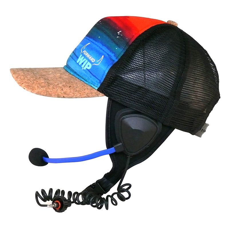 2. COOL CAP - SUNSET WITH FIXES EAR STRAP - BBT